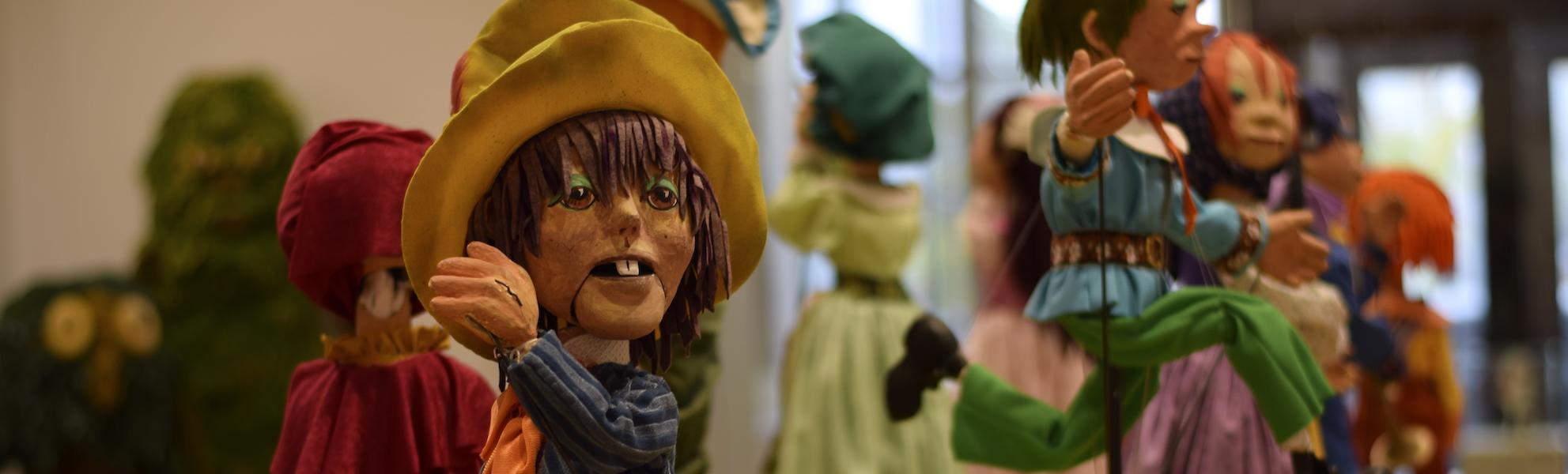 Puppets by Frank Ballard