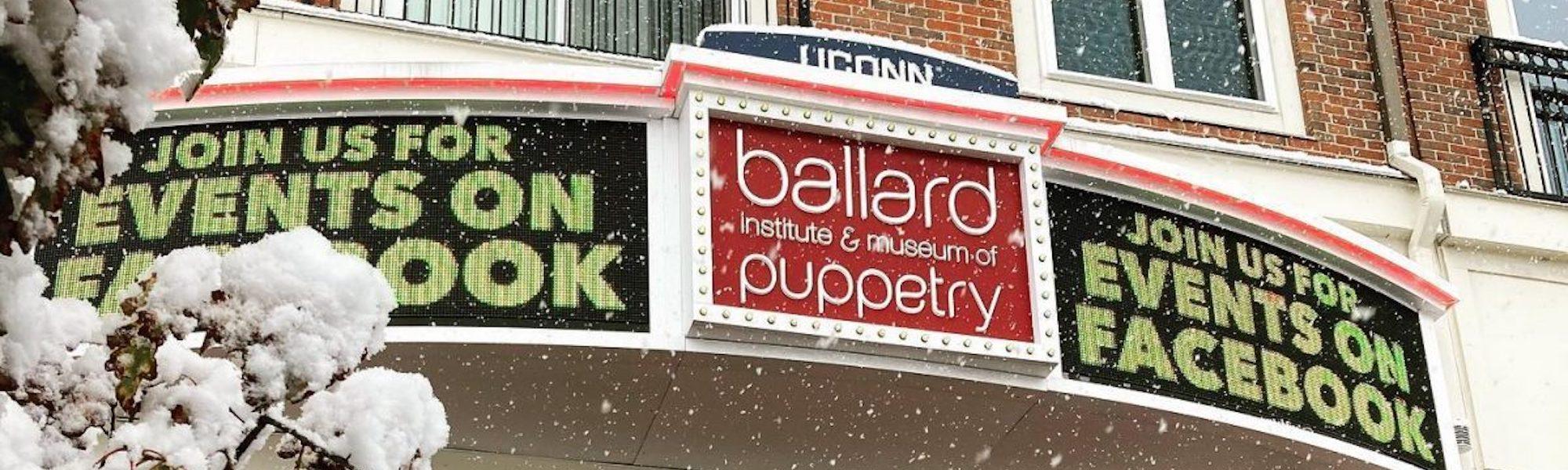 Snowy Ballard Institute marquee